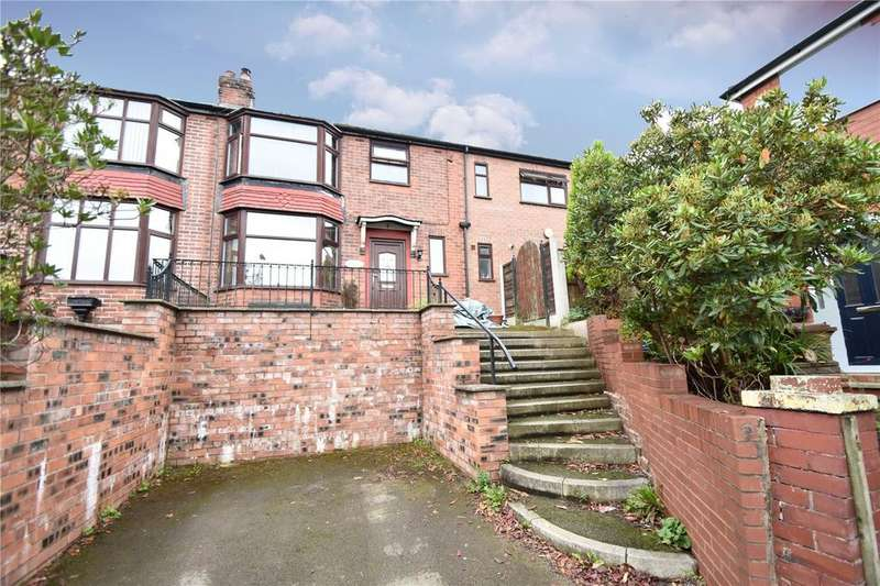 4 Bedrooms Semi Detached House for sale in Wordsworth Gardens, Prestwich, Manchester, Greater Manchester, M25