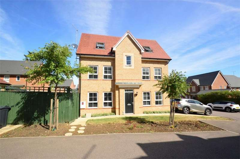 4 Bedrooms End Of Terrace House for sale in Sparrowhawk Place, HATFIELD, Hertfordshire