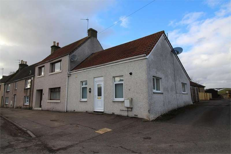 2 Bedrooms Terraced Bungalow for sale in Main Street, MILTON OF BALGONIE, Fife