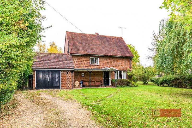 3 Bedrooms Detached House for sale in Woolmers Lane, Letty Green, Hertford