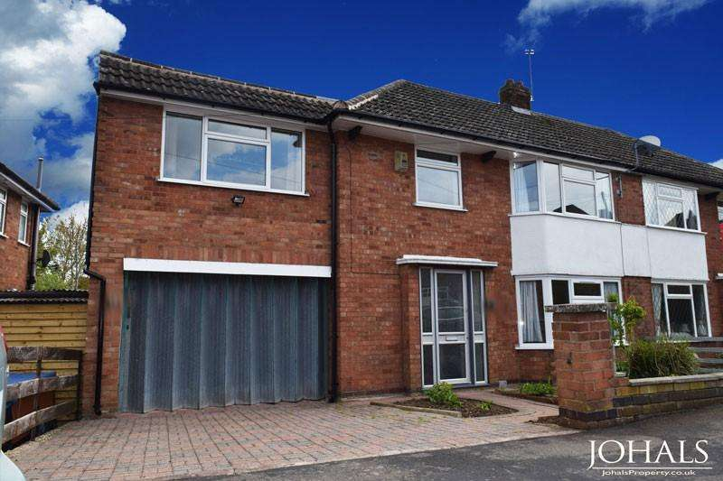 4 Bedrooms Semi Detached House for sale in Highcroft Avenue, Leicester, LE2
