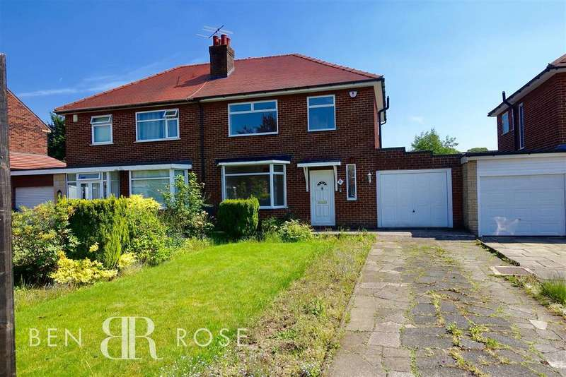 3 Bedrooms Semi Detached House for sale in Chester Avenue, Chorley