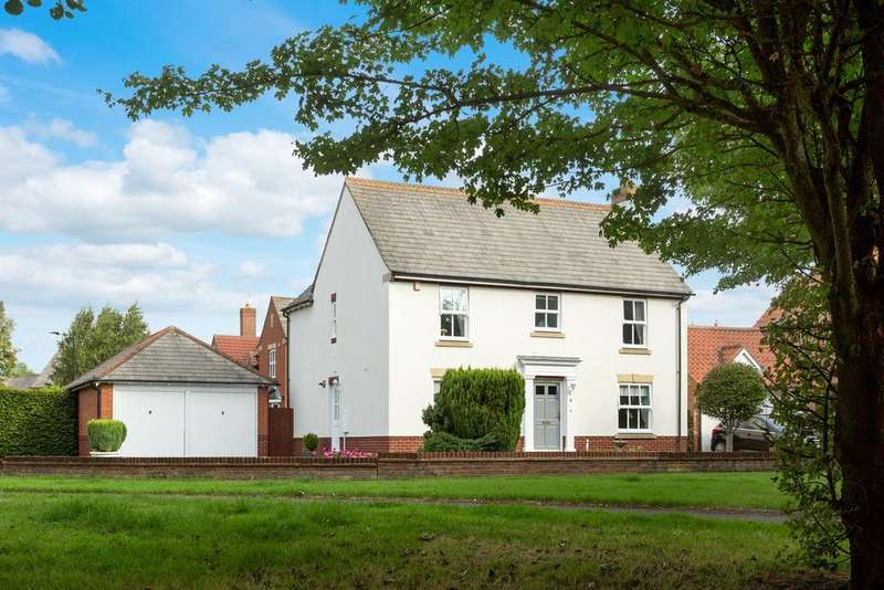 4 Bedrooms Detached House for sale in Northlands Avenue, Earswick, York, YO32