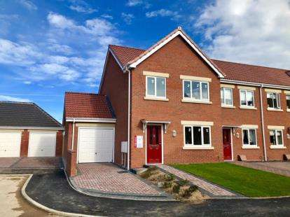 3 Bedrooms Semi Detached House for sale in Lumley Fields, Skegness, Lincolnshire