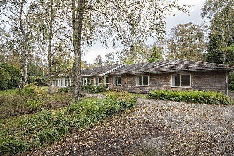 5 Bedrooms Detached Bungalow for sale in Featherwood, Morpeth, Northumberland