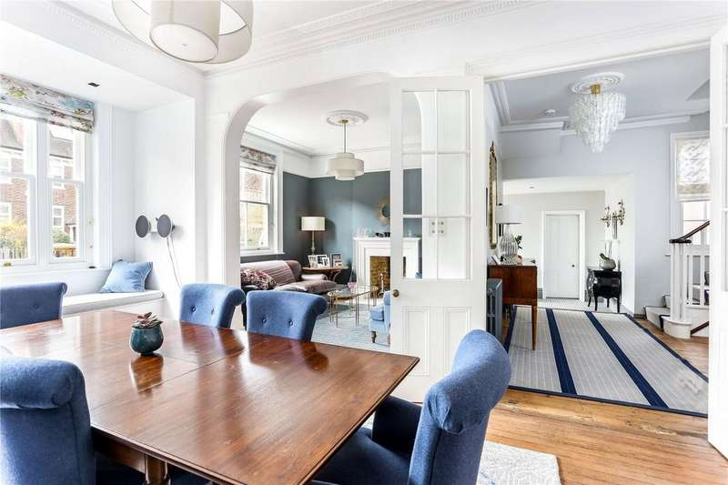 6 Bedrooms Semi Detached House for sale in Lauriston Road, Wimbledon, London, SW19