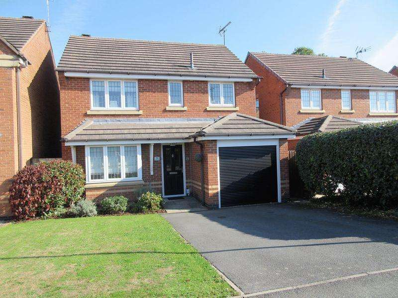 3 Bedrooms Detached House for sale in Hampton Close, Coalville