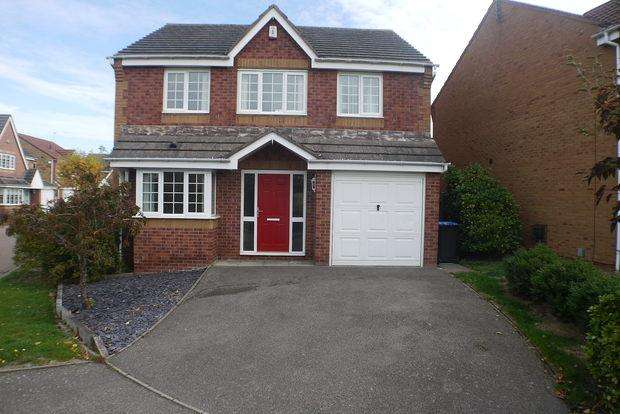 4 Bedrooms Detached House for sale in Long Brimley Close, Market Harborough, LE16