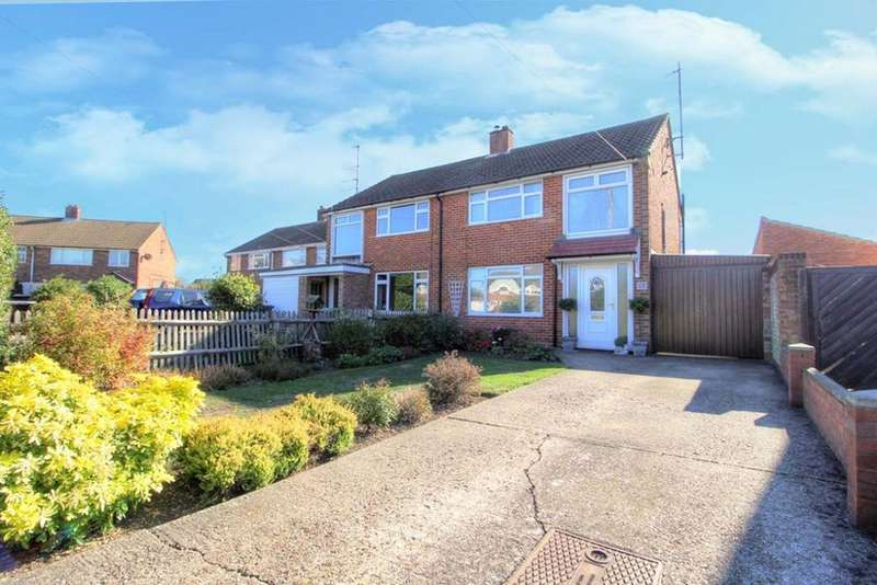 3 Bedrooms Semi Detached House for sale in Gilwell Close, Bedford, MK41