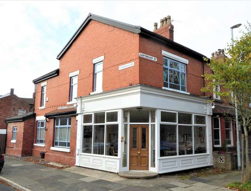 4 Bedrooms End Of Terrace House for sale in Kingshill Road, Chorlton