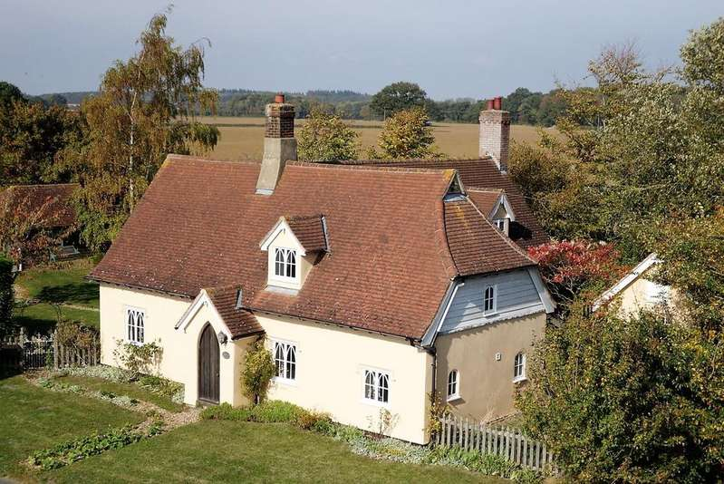 4 Bedrooms Cottage House for sale in Felsham Road, Bradfield St. George