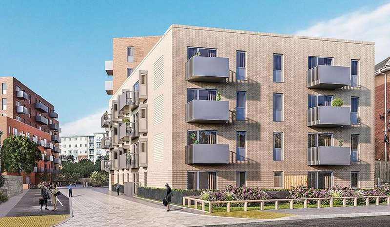 2 Bedrooms Apartment Flat for sale in New Development, Central Slough, Slough