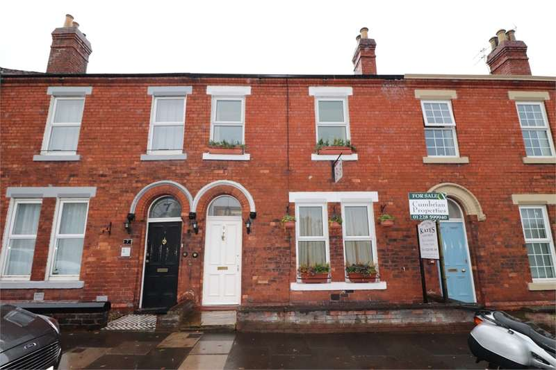 4 Bedrooms Terraced House for sale in CA1 2PZ Lazonby Terrace, off London Road, CARLISLE, Cumbria