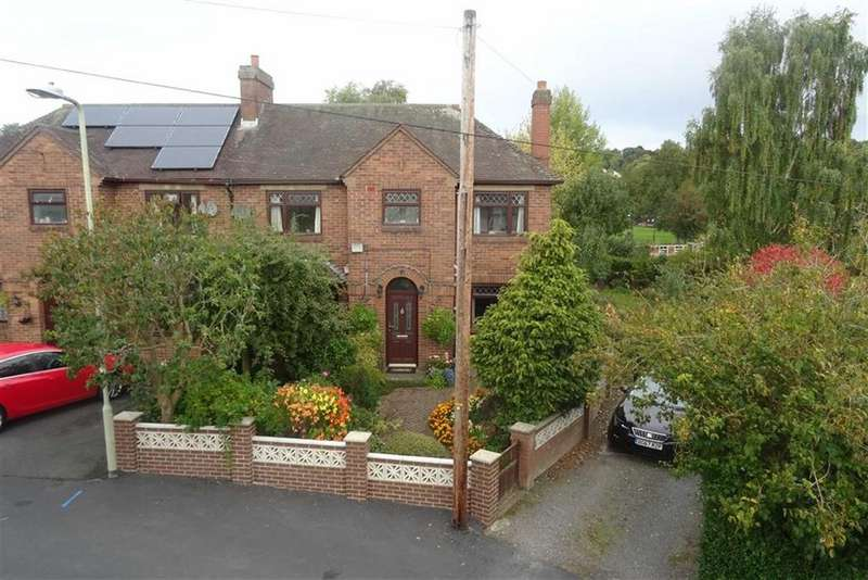 3 Bedrooms Semi Detached House for sale in 29, Corporation Street, Bishop's Castle, Shropshire, SY9
