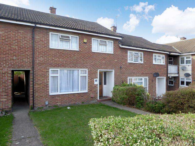 3 Bedrooms Terraced House for sale in Long Mead, Houghton Regis