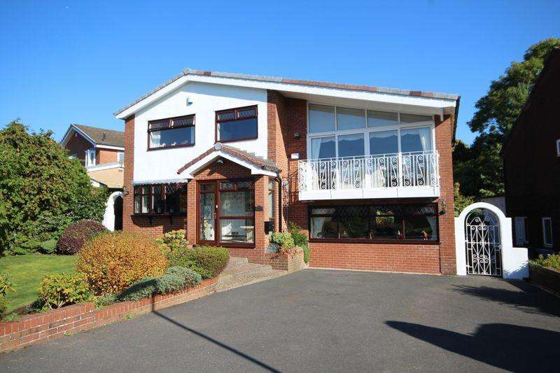 4 Bedrooms Detached House for sale in NORFORD WAY, Bamford, Rochdale OL11 5QS