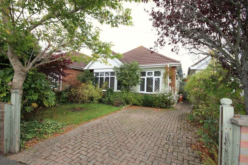 2 Bedrooms Detached Bungalow for sale in Bascott Road, Wallisdown, BH11