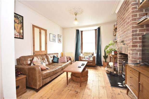 2 Bedrooms Terraced House for sale in Quantock Road, Windmill Hill, Bristol, BS3 4PF