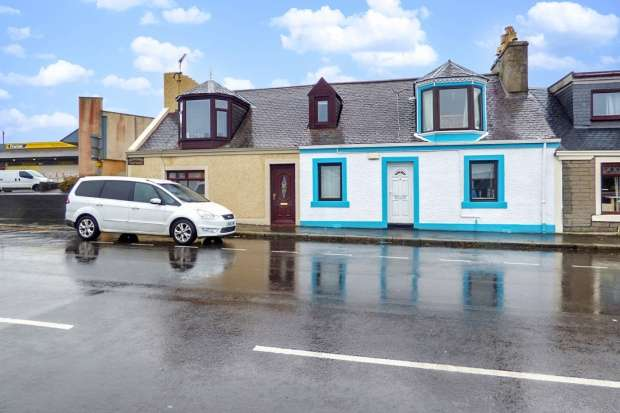4 Bedrooms Cottage House for sale in Glendoune Street, South Ayrshire, Ayrshire, KA26 0AA