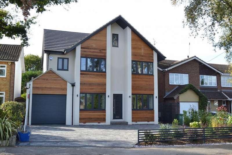 5 Bedrooms Detached House for sale in Little Norsey Road, Billericay, Essex, CM11