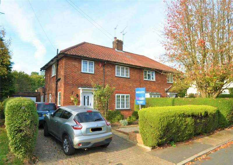 3 Bedrooms Semi Detached House for sale in Broadfield Place, WELWYN GARDEN CITY, Hertfordshire