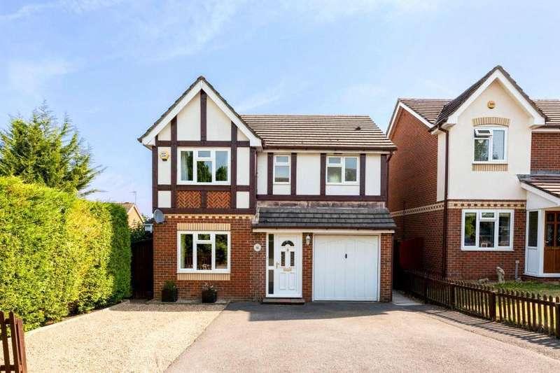 4 Bedrooms Detached House for sale in Primrose Gardens, Basingstoke, RG22