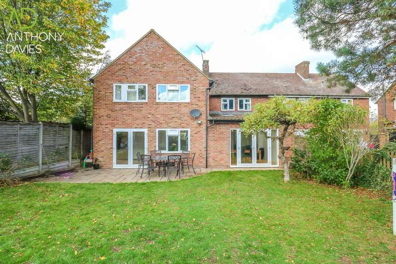 4 Bedrooms Semi Detached House for sale in St. Cuthberts Road, Hoddesdon, EN11