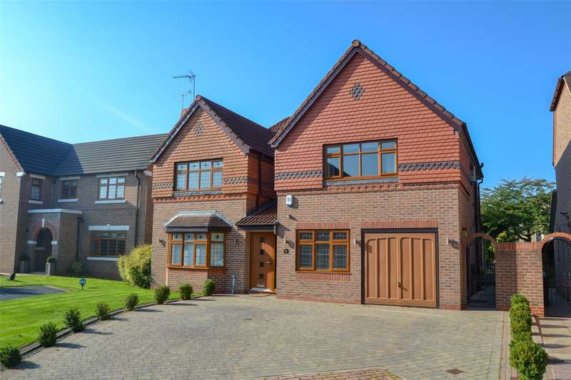 4 Bedrooms Detached House for sale in Wike Ridge Fold, Leeds, West Yorkshire, LS17