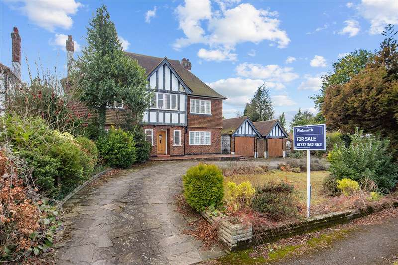 4 Bedrooms Detached House for sale in Higher Drive, Banstead, Surrey, SM7