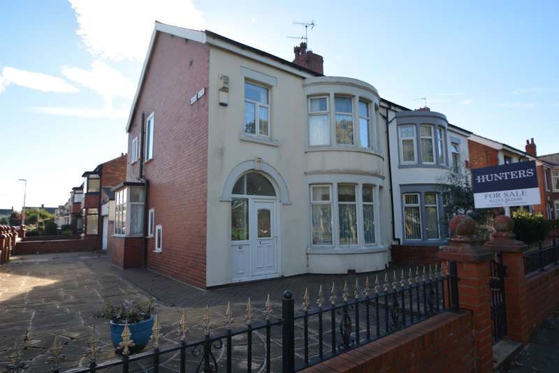 3 Bedrooms Semi Detached House for sale in Watson Road, South Shore, Blackpool, FY4 2DE