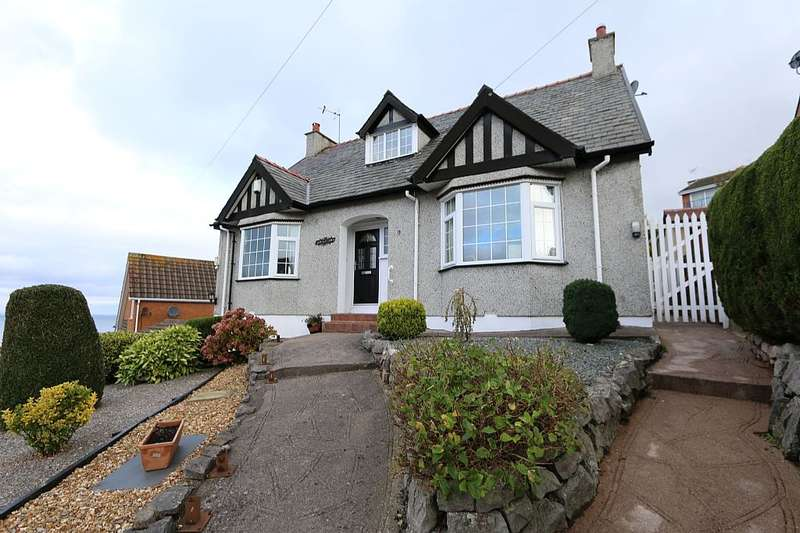 3 Bedrooms Detached Bungalow for sale in Peulwys Road, Old Colwyn, Colwyn Bay, North Wales, LL29 9NU
