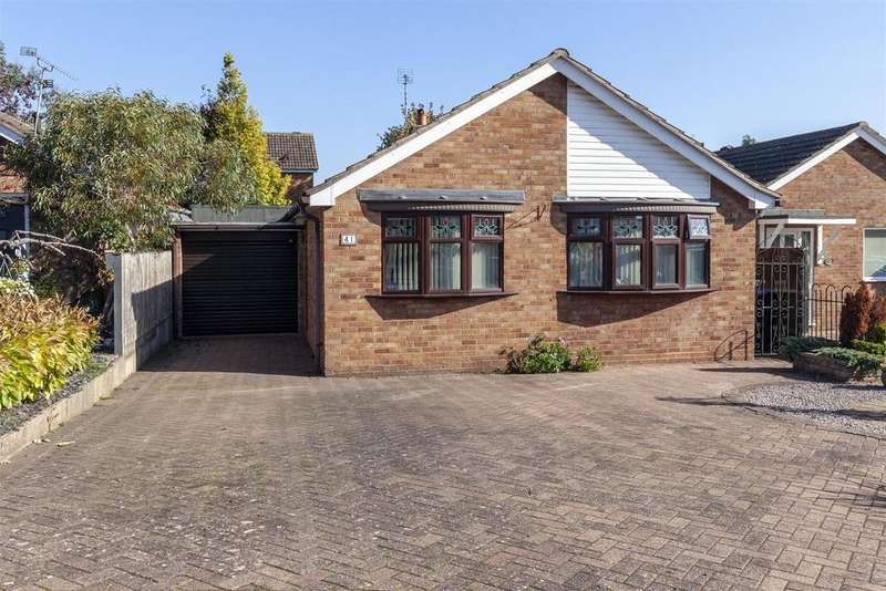 2 Bedrooms Bungalow for sale in Blenheim Crescent, Broughton Astley, Leicester