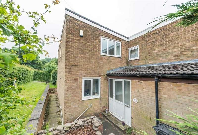 3 Bedrooms End Of Terrace House for sale in Fleury Close, Gleadless, Sheffield, S14