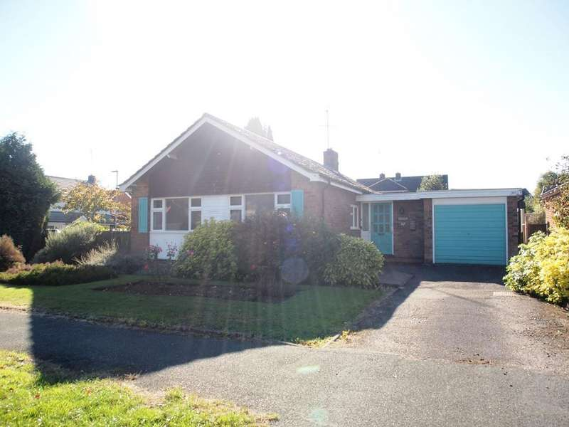 3 Bedrooms Detached Bungalow for sale in Springfield Crescent, Kibworth, LEICESTER, LE8