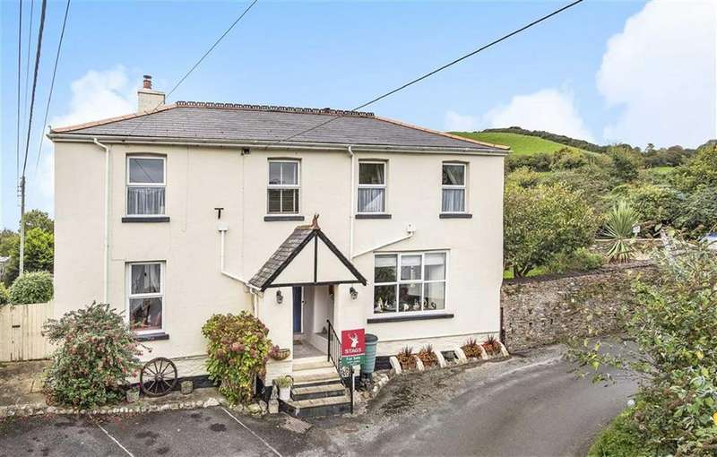 6 Bedrooms Detached House for sale in Old Berrynarbor Road, Hele Bay, Ilfracombe, Devon, EX34