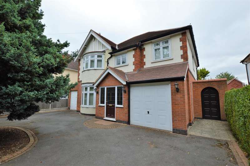 5 Bedrooms Detached House for sale in Saffron Road, Wigston, LE18 4UP