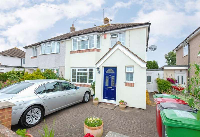 3 Bedrooms Semi Detached House for sale in Mercian Way, Cippenham