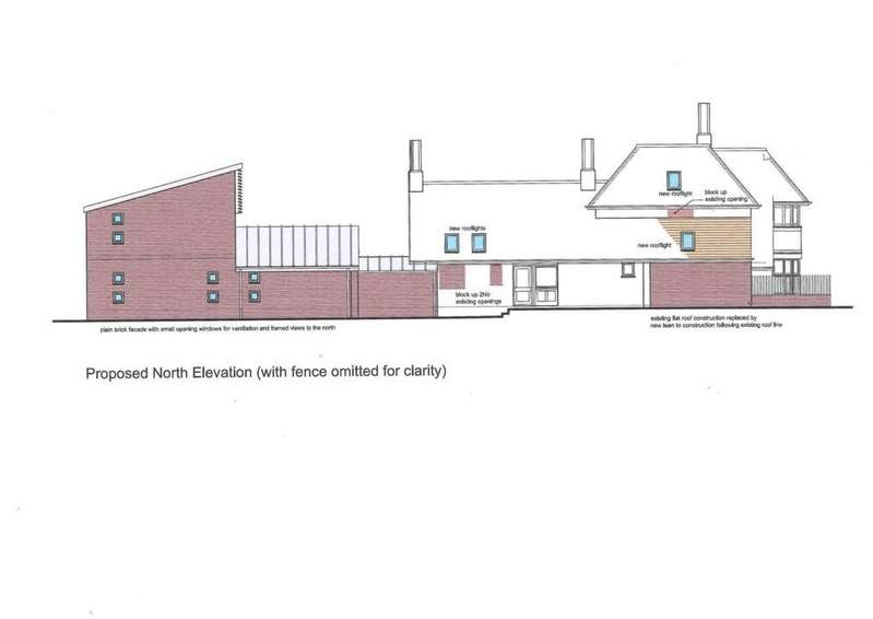 4 Bedrooms Land Commercial for sale in 2 Flats Building Plot, Constitution Hill, Norwich