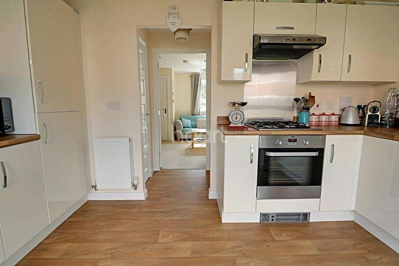 2 Bedrooms Semi Detached House for sale in Tacitus Way, North Hykeham