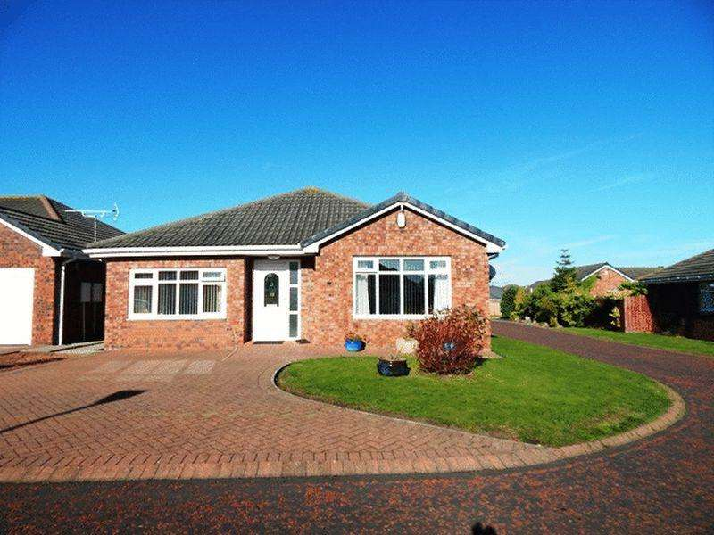 3 Bedrooms Bungalow for sale in Blenheim Court, Blyth