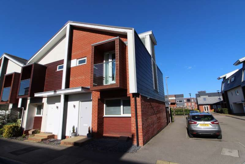 2 Bedrooms End Of Terrace House for sale in Addenbrookes Road, Newport Pagnell, Buckinghamshire