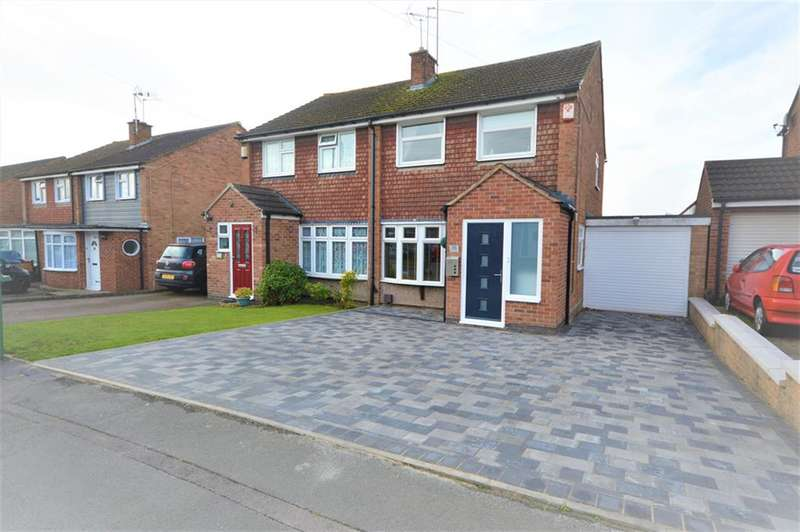 3 Bedrooms Semi Detached House for sale in Kipling Drive, Enderby, Leicester, LE19 4QQ