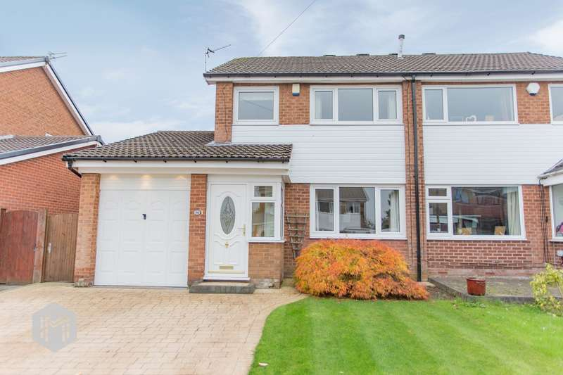 3 Bedrooms Semi Detached House for sale in Haslam Hey Close, Bury, BL8