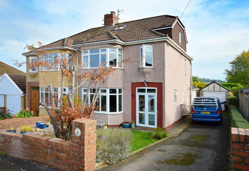 4 Bedrooms Semi Detached House for sale in Somerville Close, Saltford, BS31