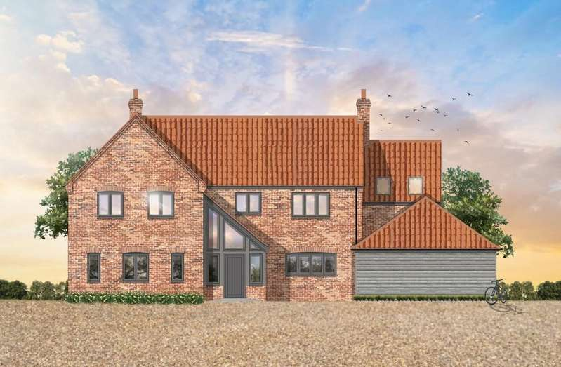 4 Bedrooms Detached House for sale in Howards Way, Gayton