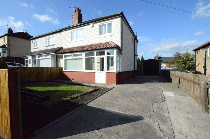 3 Bedrooms Semi Detached House for sale in Harrison Crescent, Leeds, West Yorkshire