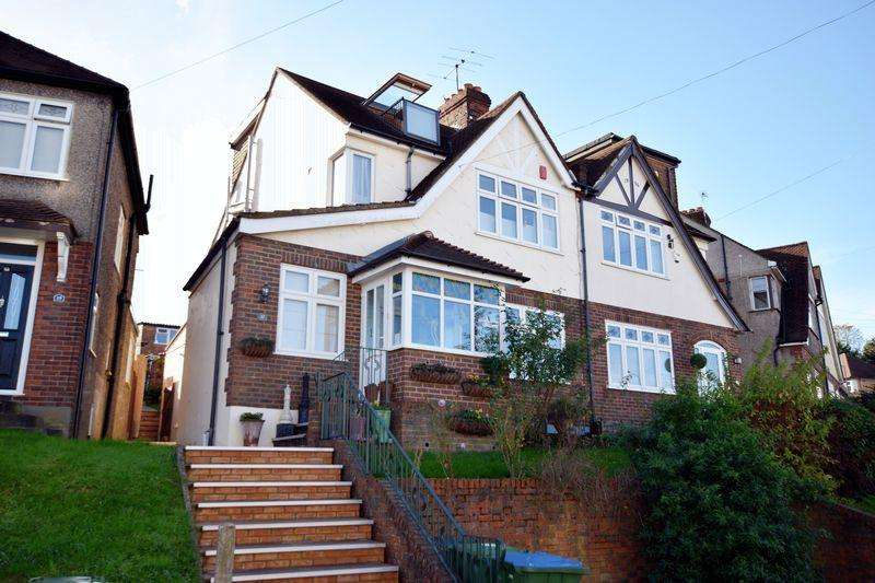 5 Bedrooms Semi Detached House for sale in Brinklow Crescent, Shooters Hill, SE18 3BS