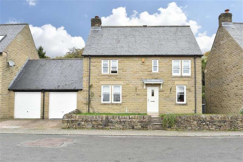 4 Bedrooms Link Detached House for sale in 61, Fidlers Close, Bamford, Hope Valley, Derbyshire, S33