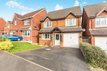 4 Bedrooms Detached House for sale in Hoskyns Avenue, Warndon Villages, Worcester, Worcestershire