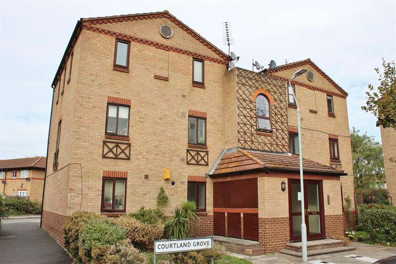 2 Bedrooms Flat for sale in Courtland Grove, Thamesmead, London, SE28 8PD
